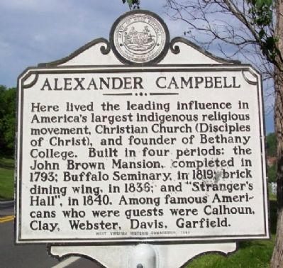 Alexander Campbell Marker image. Click for full size.