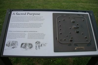 A Sacred Purpose Marker image. Click for full size.