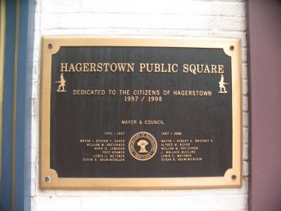 Hagerstown Public Square image. Click for full size.