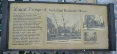 Mount Prospect Marker image. Click for full size.