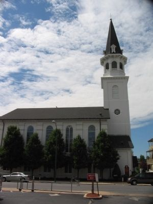View of the Church and Tower Today image. Click for full size.