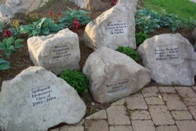 Dr. Martin Luther King, Jr. Memorial Rocks image. Click for full size.
