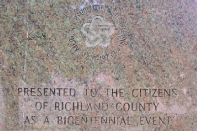 Richland County War Memorial Dedication image. Click for full size.