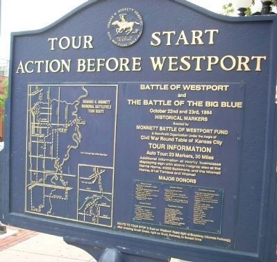 Action Before Westport Marker image. Click for full size.