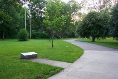 Muskingum Park Extension Marker image. Click for full size.
