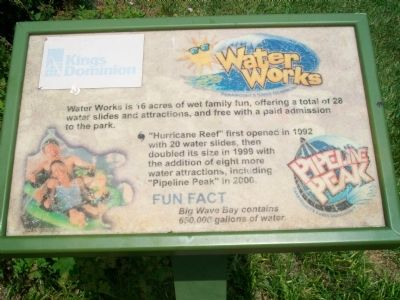 Water Works Marker image. Click for full size.