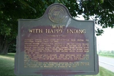 """War"" With Happy Ending Marker image. Click for full size."