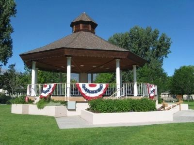 North Side of the Rotary Memorial Bandstand image. Click for full size.