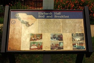 Ehrhardt Hall Marker image. Click for full size.