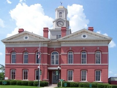 Johnson County Courthouse image. Click for full size.