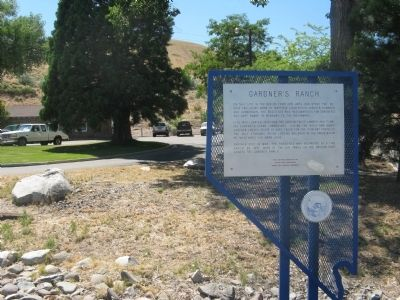 Gardner's Ranch Marker image. Click for full size.