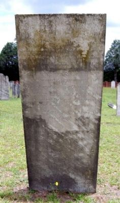 Elizabeth Pressley Tombstone image. Click for full size.