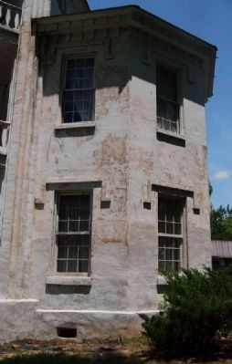 Frazier-Pressly House - Facade of East Tower image. Click for full size.