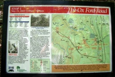 The Ox Ford Road Marker image. Click for full size.