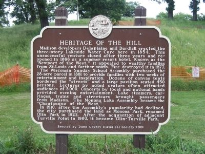 Heritage of the Hill Marker image. Click for full size.