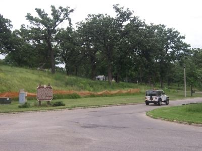 Heritage of the Hill Marker in Olin-Turville Park image. Click for full size.