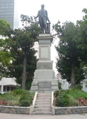 Henry Clay Statue - Lafayette Square image. Click for full size.