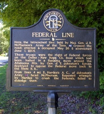 Federal Line Marker image. Click for full size.