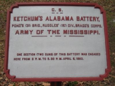 Ketchum's Alabama Battery Tablet image. Click for full size.
