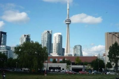 Toronto skyline seen from Little Norway Park image. Click for full size.