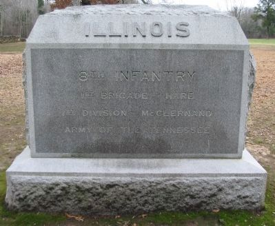 8th Illinois Infantry Monument image. Click for full size.