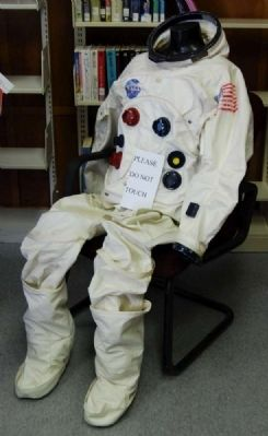 Apollo 11 Spacesuit Prototype image. Click for full size.