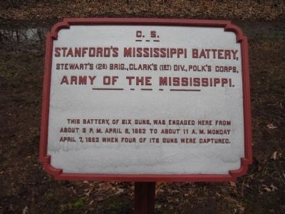 Stanford's Mississippi Battery Tablet image. Click for full size.