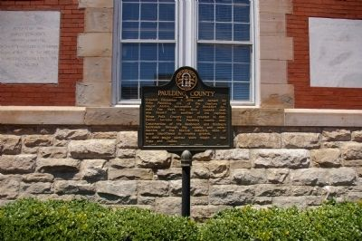 Paulding County Marker image. Click for full size.