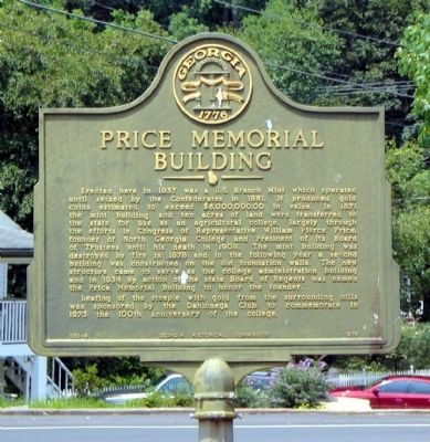 Price Memorial Building Marker image. Click for full size.