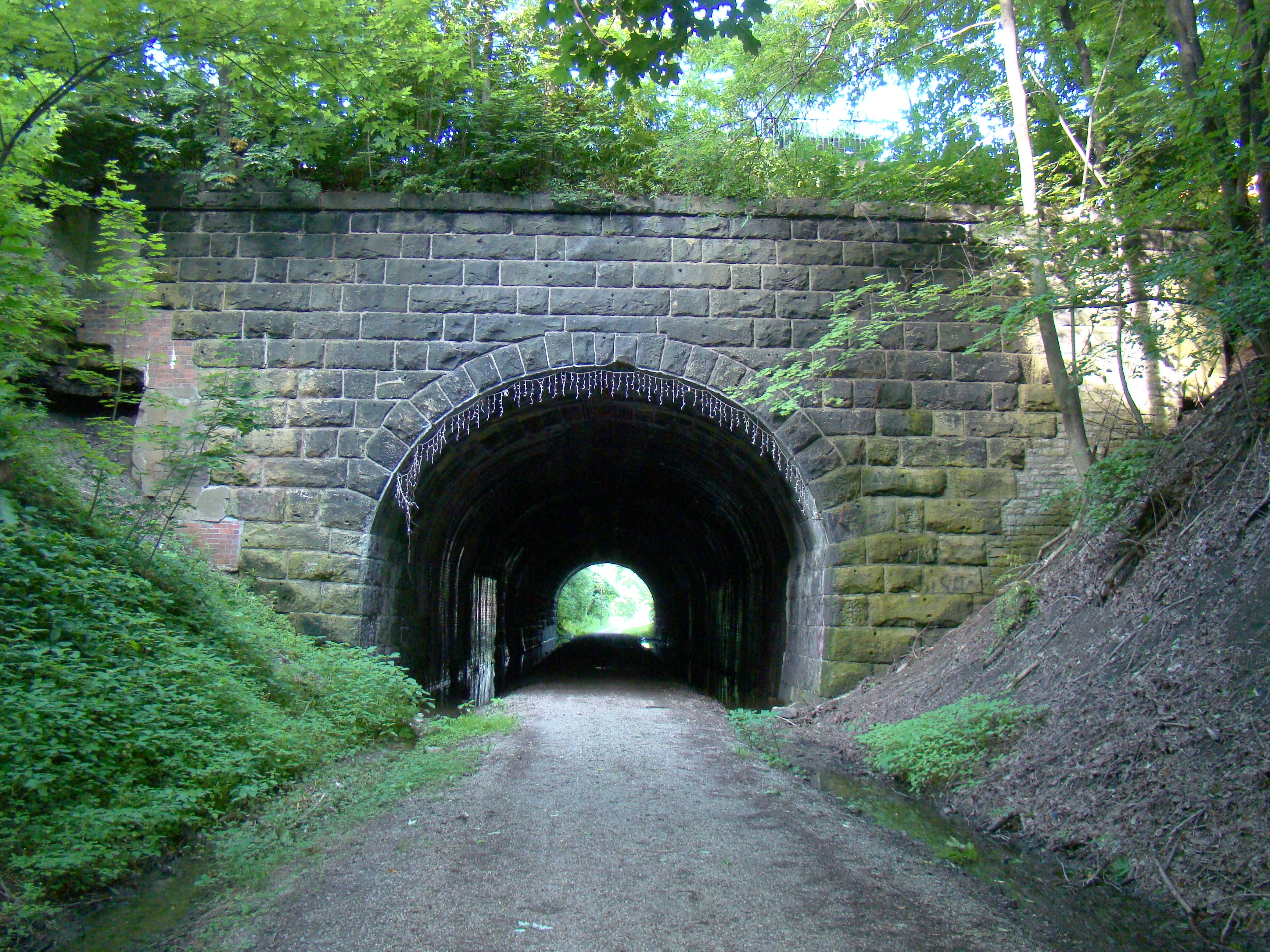 B&O Railroad Tunnel, This View is Eastward
