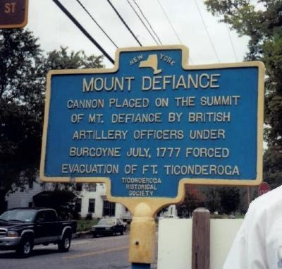 Mount Defiance Marker image. Click for full size.