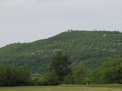 Mount Defiance as seen from Fort Ticonderoga image. Click for full size.