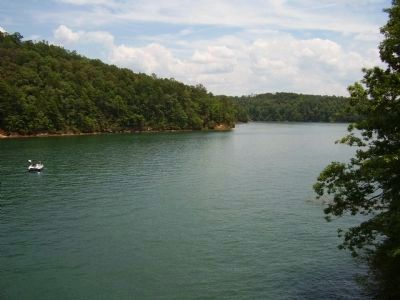 View of Lake Keowee image. Click for full size.