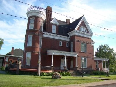 Victorian Mansion Museum of the Belmont County Historical Society image. Click for full size.