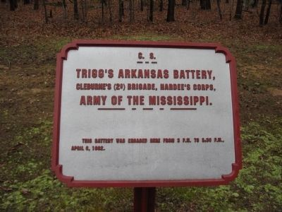 Trigg's Arkansas Battery Tablet image. Click for full size.