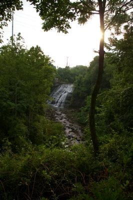 Mill Creek Falls at sunrise image. Click for full size.