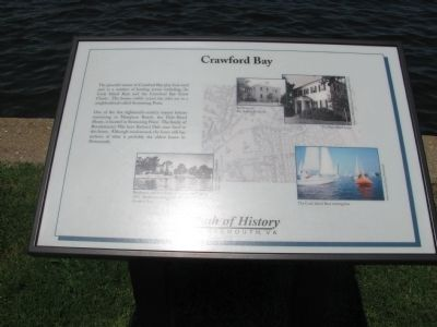 Crawford Bay Marker image. Click for full size.