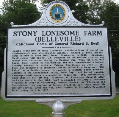 Stony Lonesome Farm Marker image. Click for full size.
