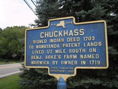 Chuckhass Marker image. Click for full size.