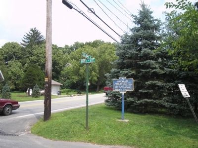 Marker in Warwick image. Click for full size.