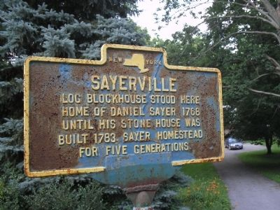 Sayerville Marker image. Click for full size.