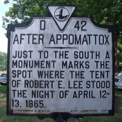 After Appomattox Marker image. Click for full size.