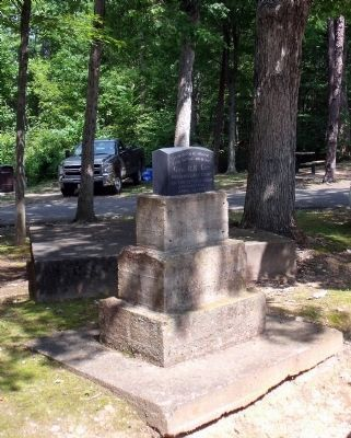 Lee Encampment Site Monument. image. Click for full size.