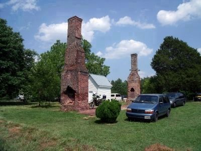 Ruins of Rose Cottage. image. Click for full size.