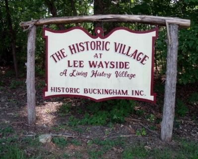 The Historic Village at Lee Wayside image. Click for full size.