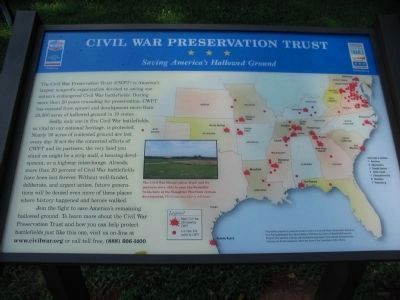 Civil War Preservation Trust<br>Saving America&#39;s Hallowed Ground image. Click for full size.
