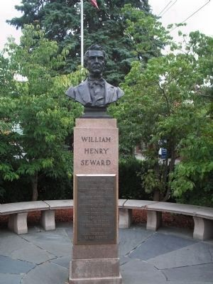 William Henry Seward Monument image. Click for full size.