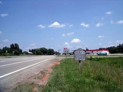 Campaign of 1781 Marker on Rte 60 (facing east) image. Click for full size.
