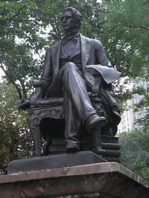 William Seward Statue image. Click for full size.