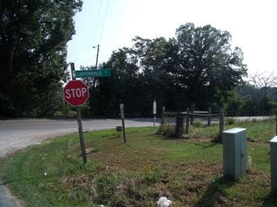 Cartersville Rd & Ampthill Rd image. Click for full size.